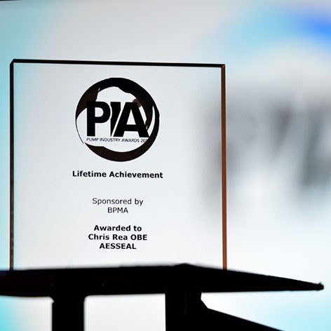 British Pump Manufacturers' Association - Award