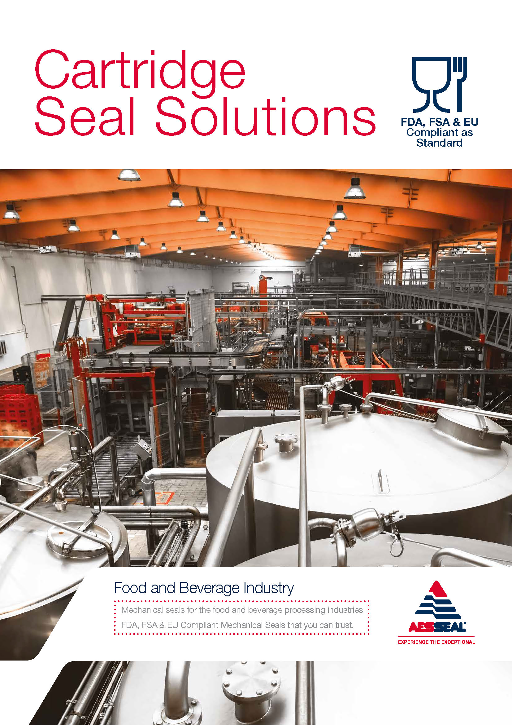 Mechanical seals for the food and beverage processing industries